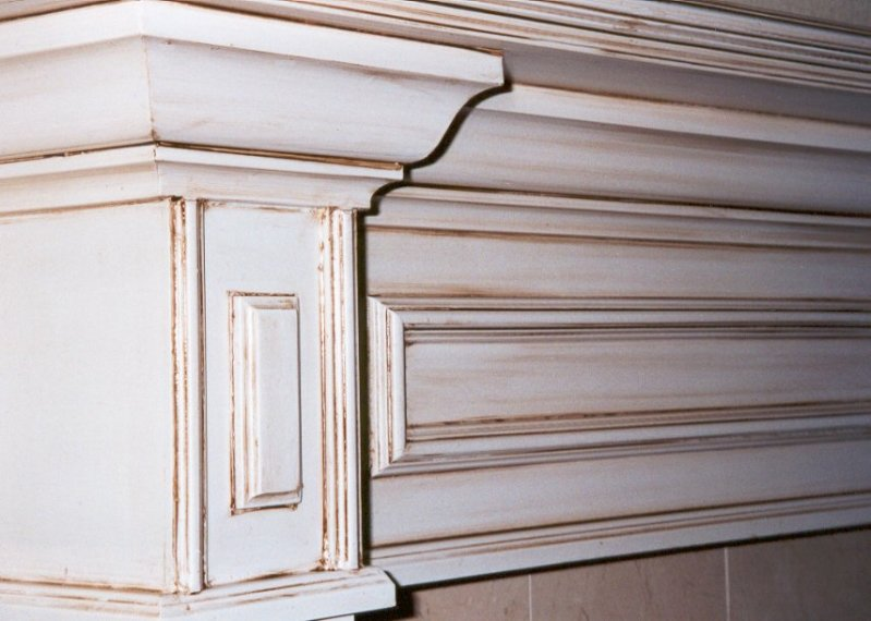Faux Finished Cabinets with Antique finish - Beautiful Faux Finished Cabinets By Faux Real Designs.